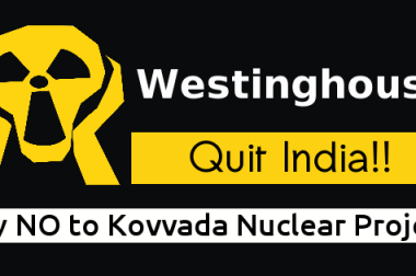 Statement on the visit of Westinghouse official to India, to resuscitate the Kovvada Nuclear Project