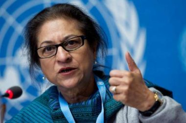 """Asma Jahangir was a relentless fighter for human rights, women rights  and  for justice"" : Nirupama Subramanian"