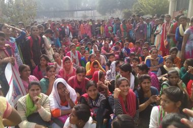 Haryana: Students Protest Against the Anti-Student Policies of Khattar Government