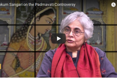 "Kumkum Sangari: ""Padmavati is a  fictional character, but the Hindu Right has fabricated fiction as well."""