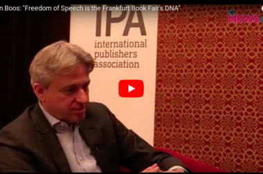 "Juergen Boos: ""Free Speech is the Frankfurt Book Fair's DNA"""