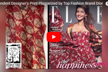 Independent Designer's Print Plagiarised by Top Fashion Brand Dior