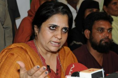 ABVP Creates Ruckus in MGKVP, Threatens Teesta Setalvad and Students