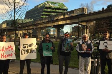 Rally for Gauri Lankesh and Rohith Vemula Held in Canada