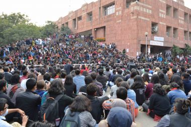 JNU Students Launch #SuspendJohri Campaign Against Professor Accused of Sexual Harassment