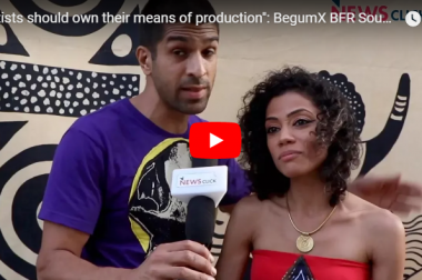 """Artists Should Own their Means of Production"": BegumX BFR Sound System"