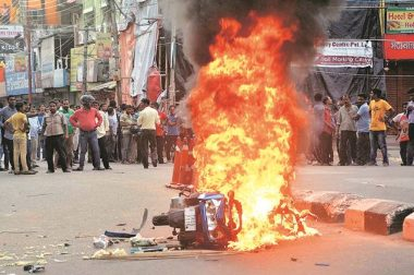 PADS Condemns Post-poll Violence by BJP-RSS Cadre and Supporters in Tripura