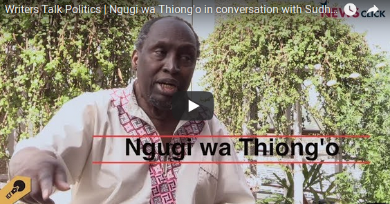 "Ngũgĩ wa Thiong'o: ""I want to revive the connections between Africa and Asia"""