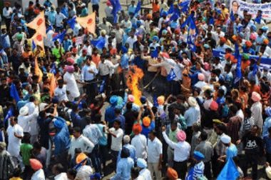 Dalit Protests Paralyse India: Five Dead