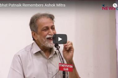 Prabhat Patnaik Remembers Ashok Mitra