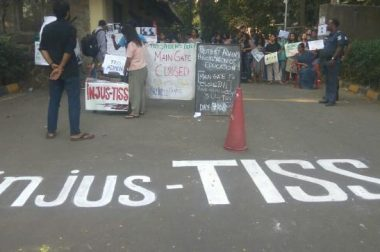 TISS admin serves show cause memo to the protesting students
