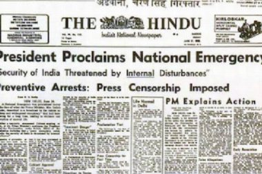43rd Anniversary of Emergency: RSS Played Double-Game as Usual