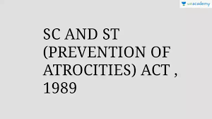 Status Report on the Implementation of the Scheduled Castes and Scheduled Tribes (Prevention of Atrocities) Act in Tamil Nadu