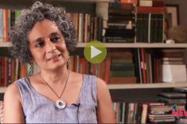 """Crackdown on Dissent is Dangerous"": Arundhati Roy"