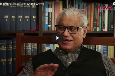 """""""UAPA is a very unjust law in terms of bail…almost like a life sentence"""": Anand Grover"""
