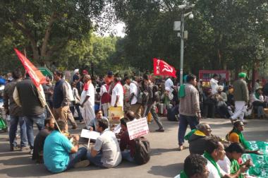 Goodbye Blood Capital: At the Farmers' Rally in Ramlila Maidan