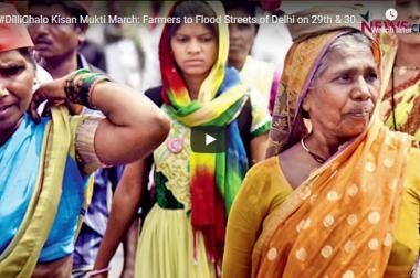 Kisan Mukti March: Farmers to Flood Streets of Delhi on 29th & 30th November