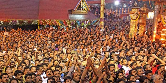 Image result for shashi tharoor sabarimala
