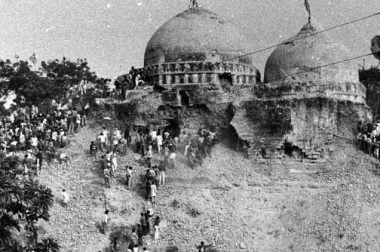 The Spectre of Babri Masjid