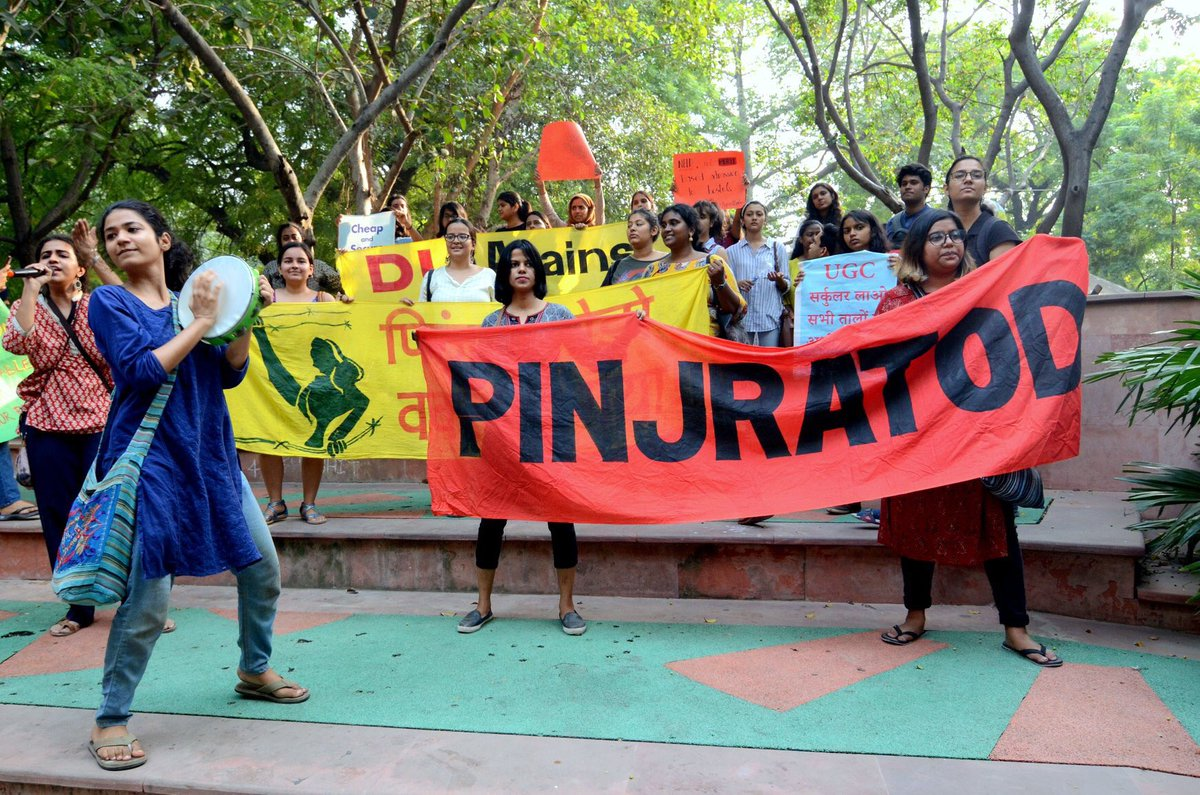 Pinjra Tod's Campaign against the Modi govt: Informed Citizenship and Student Politics