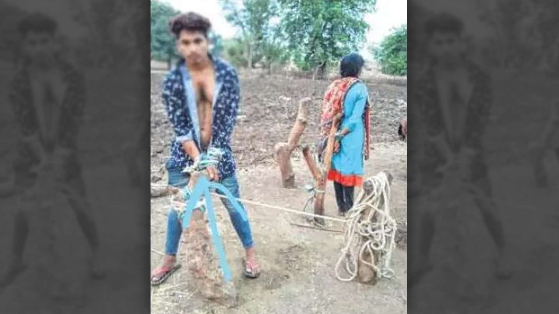 Tribal Couple Tied to Pole, Flogged by Kangaroo Court in MP's Alirajpur