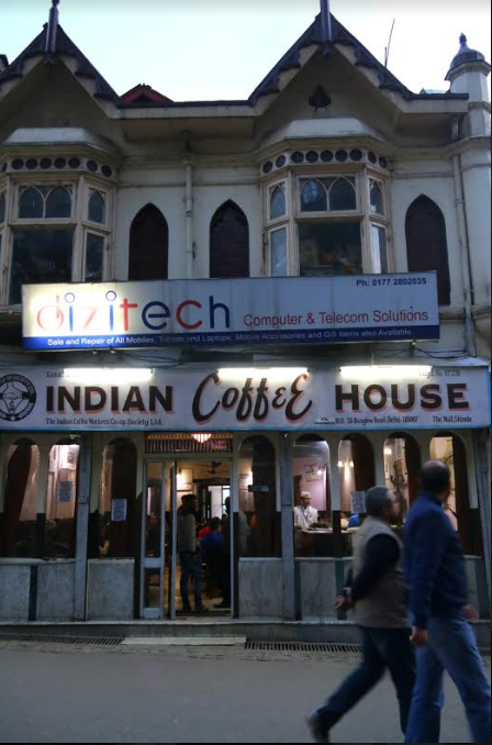 Indian Coffee House, Brewed in History