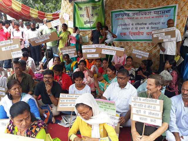 Demand to Withdraw Sedition Charge Against 30,000 Unnamed Adivasis, Activists