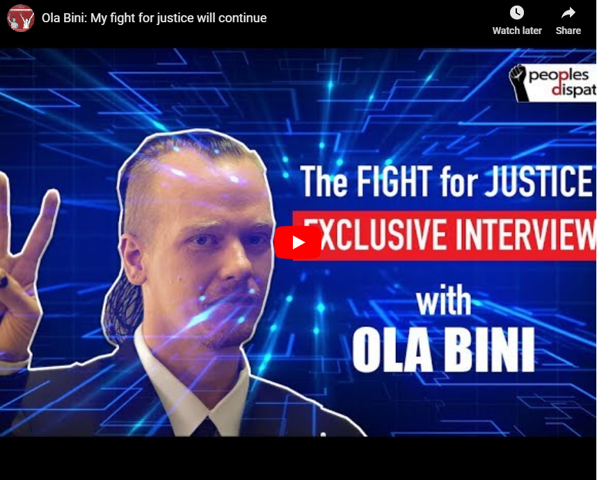 Ola Bini: My fight for justice will continue