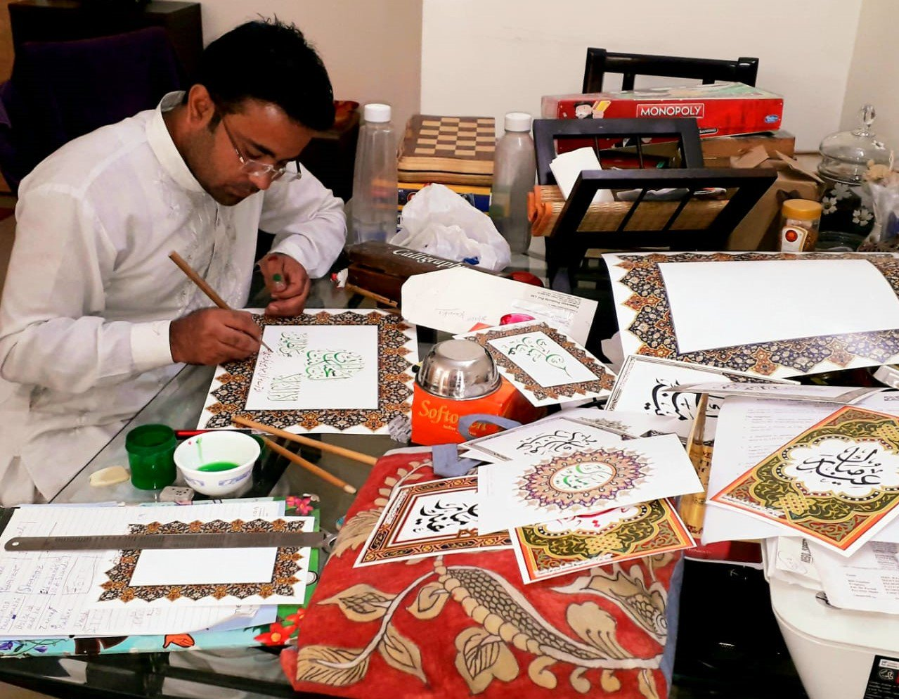 Young Man on a Mission to Preserve Islamic Calligraphy Art
