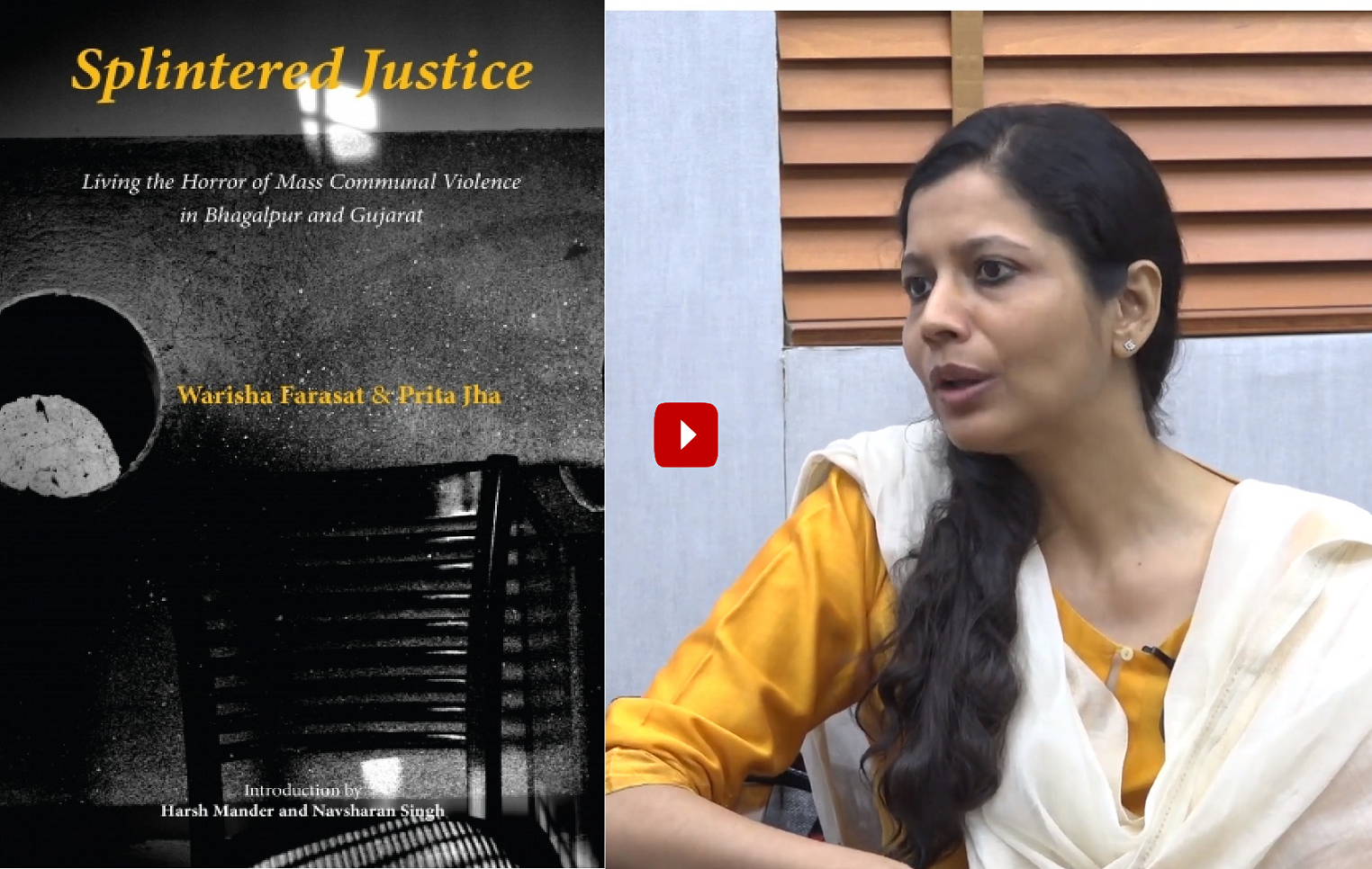 """""""These were not riots; these were out and out pogroms"""": Warisha Farasat"""