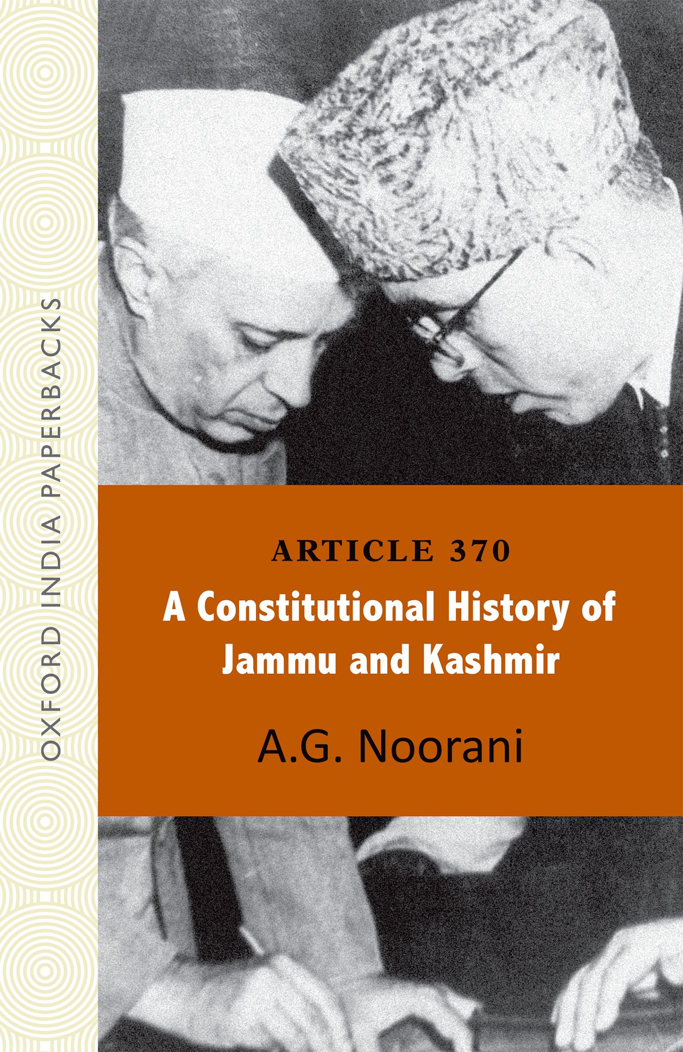 history of article 370 of indian constitution