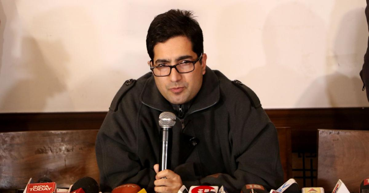 """""""Everything has been Lost, except our Resolve to Fight Back"""": Shah Faesal on Kashmir"""