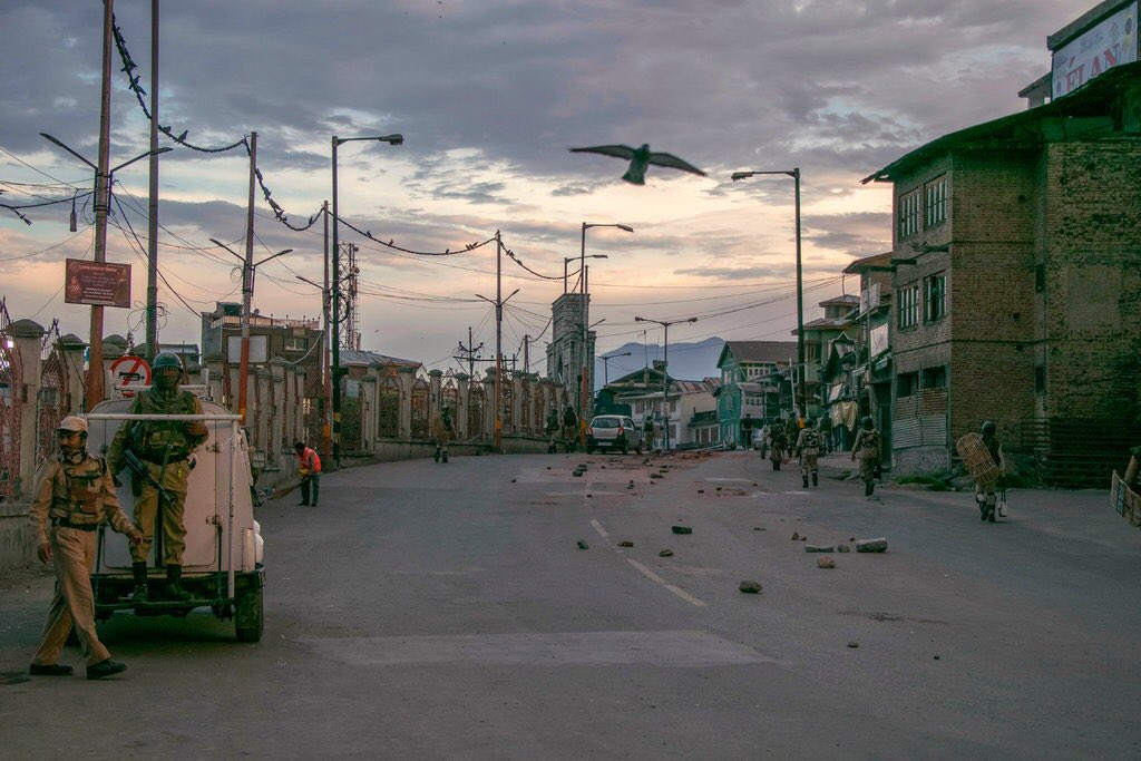 A sombre Eid in Valley, restrictions reimposed after prayers