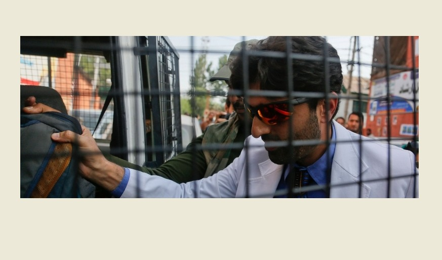 Doctor detained in Kashmir for voicing concern over healthcare crisis