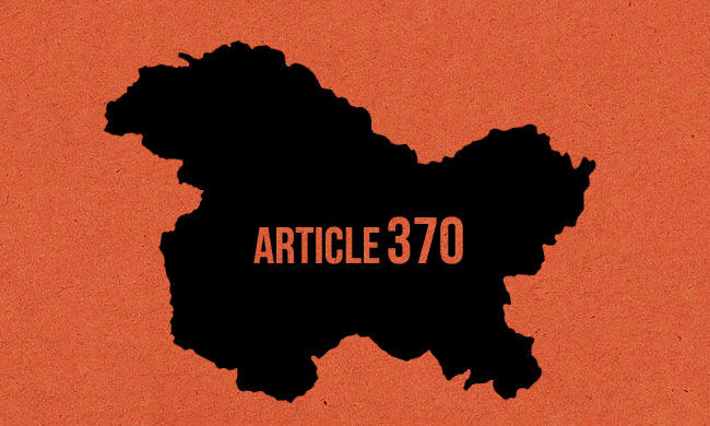 """""""What justification is there for an event that does not include a single Kashmiri or anyone who hastaken a public stand against the abrogation of Article 370"""""""