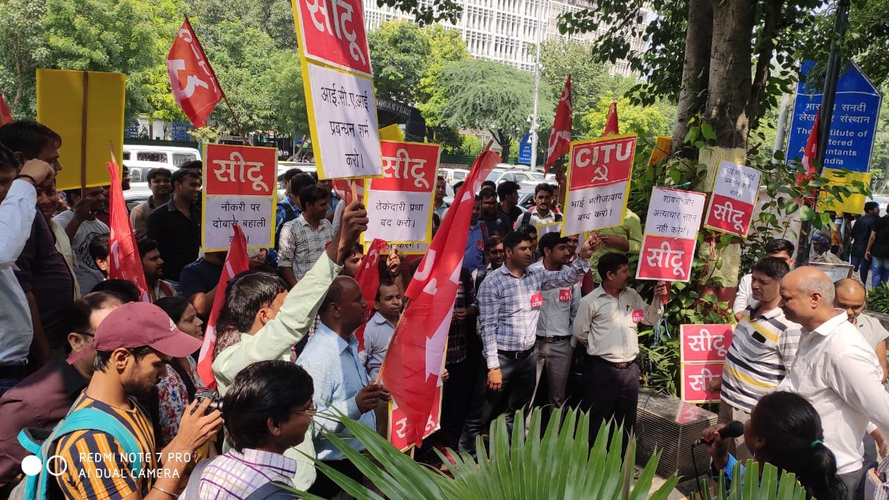 Along With CA Students, ICAI Employees Are Up in Arms Too