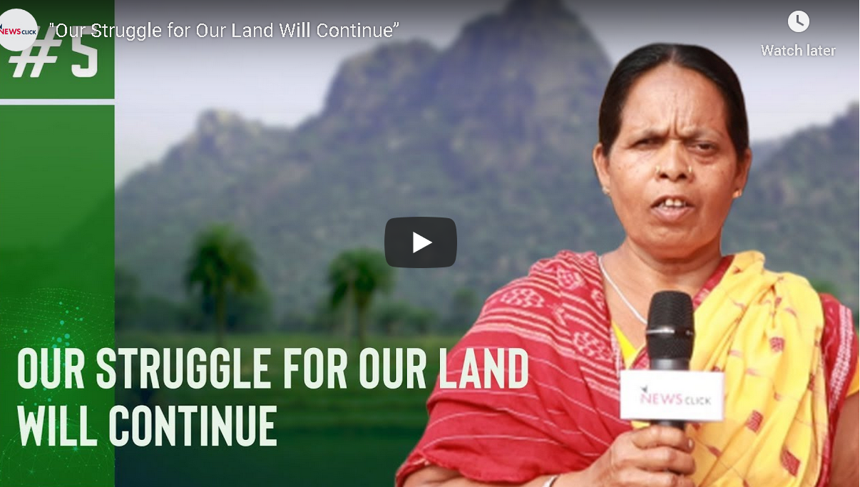 """""""Our Struggle for Our Land Will Continue"""""""