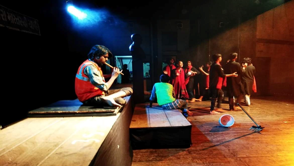 """Whistle Blower Theatre play """"Urfe Aalo"""" seeks to drive social transformation for manual scavengers"""