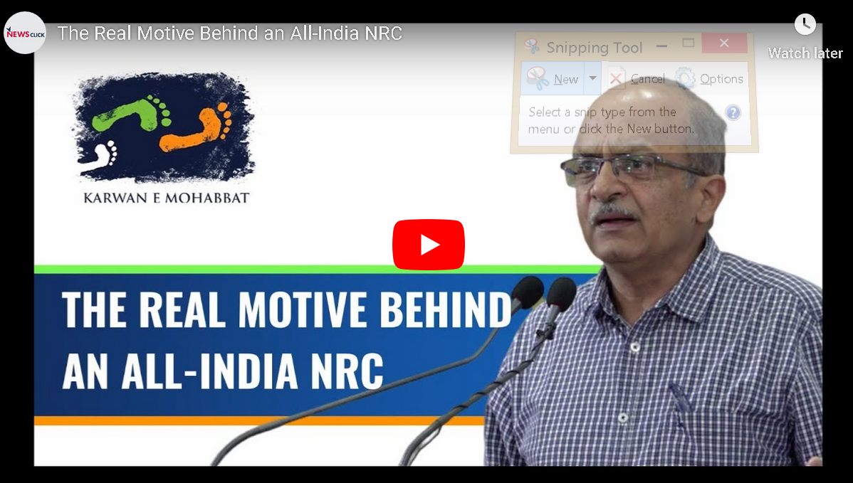 The Real Motive Behind an All-India NRC