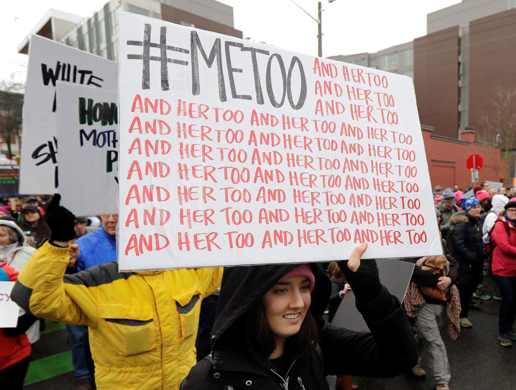 Stop silencing women who speak out against sexual harassment