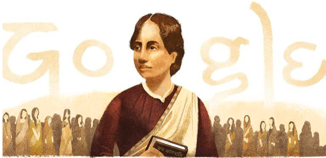 Google Doodle celebrates 155th birth anniversary of women's rights activist and poet Kamini Roy