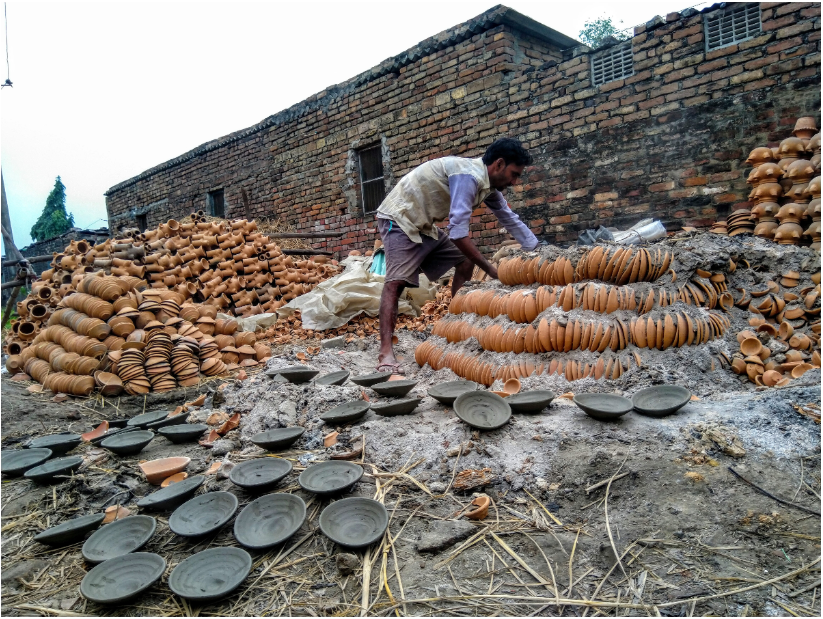 Potters in Bihar struggle to make ends meet amid lack of profit