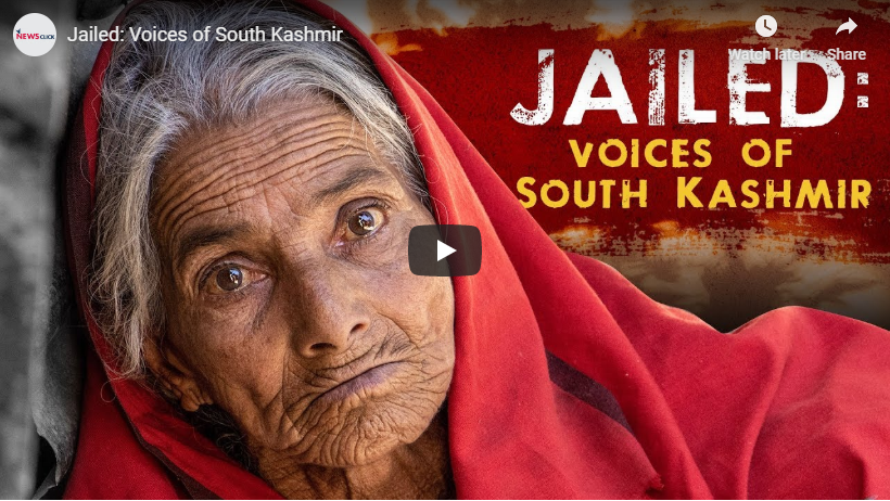 Jailed: Voices from South Kashmir