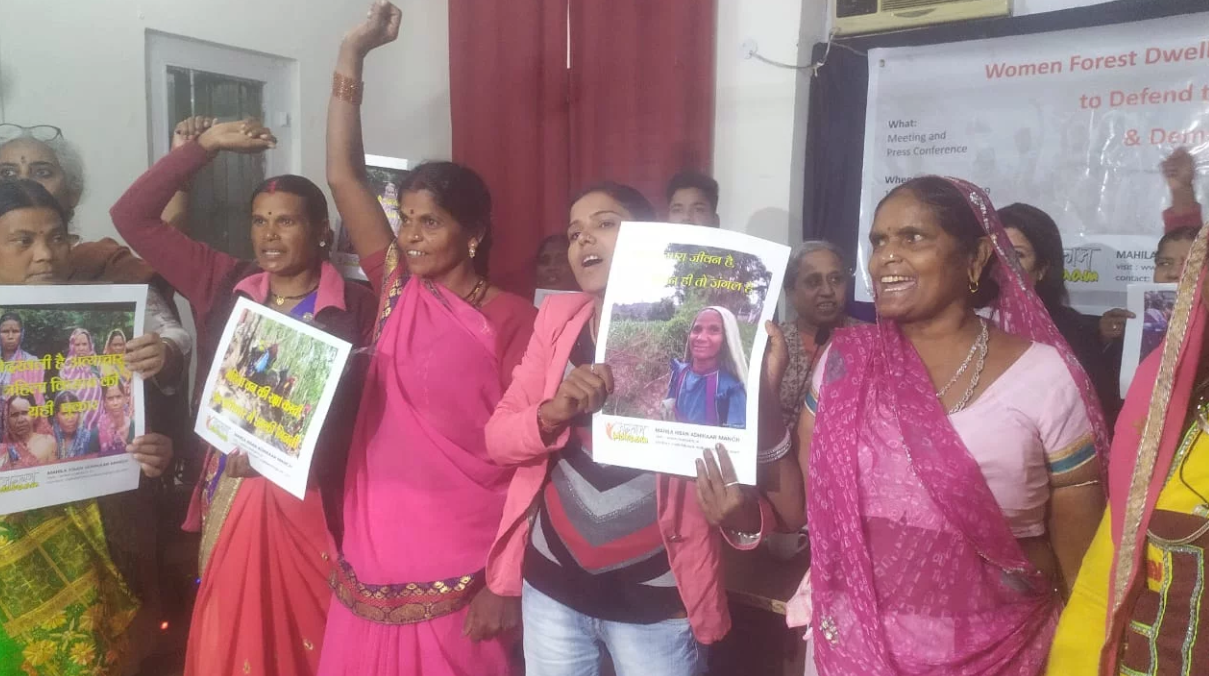 Dilution of FRA Repeat of Historical Injustices, Say Women Forest Dwellers