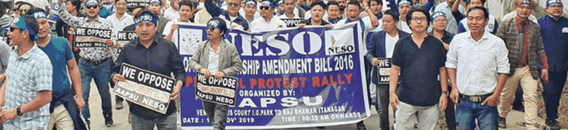 Widespread Protests against Citizenship Amendments across the Northeast