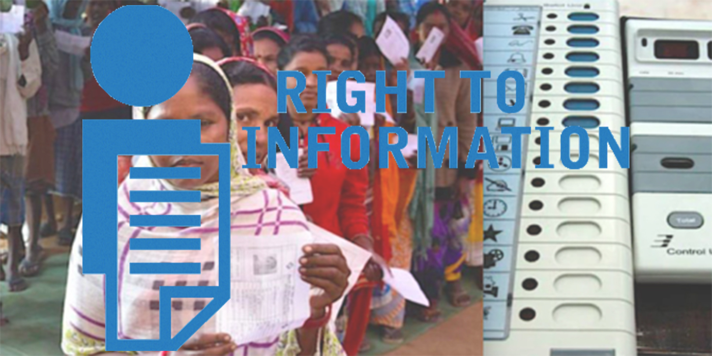 RTI: ECIL directed to disclose information on EVM and VVPAT deployment during the 2019 general elections