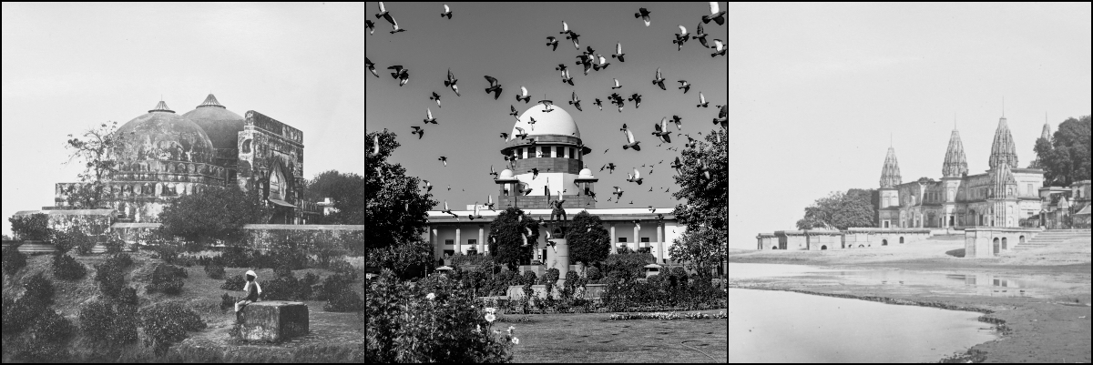 SC hands over Babri Masjid site to Central Government to build temple; decision unanimous