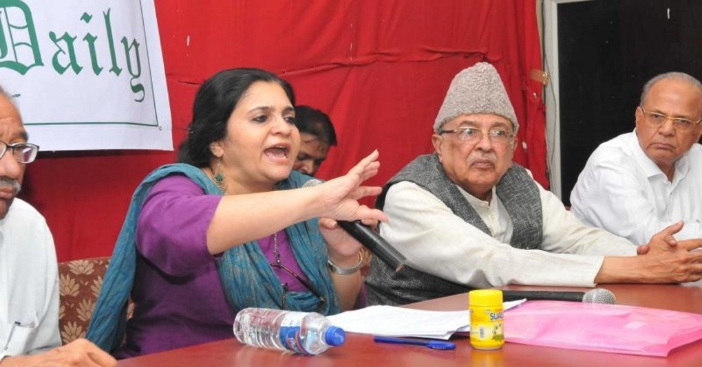 Teesta Setalvad empowers citizens and questions modalities with regards to NRC