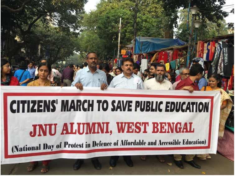 From Kerala to Mizoram, JNU students get overwhelming support against fee hike