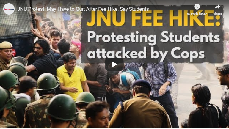 JNU Protest: May have to quit after fee hike, say students